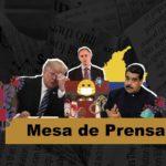 Mesa de Prensa: Recesión por COVID, Maduro acusado de narcotráfico, Colombia en cuarentena