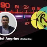 """Daniel Angrino en el conversatorio """"Procedimientos de trabajo en el contexto de la Infodemia"""""""