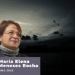 Gracias por tanto, querida Dra. María Elena Meneses