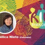 Angélica Nieto en el conversatorio Género y diversidad en el contexto de la pandemia