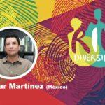 Antar Martínez en el conversatorio Género y diversidad en el contexto de la pandemia