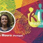Elsa Moura en el conversatorio Género y diversidad en el contexto de la pandemia