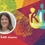 Eva Lus en el conversatorio Género y diversidad en el contexto de la pandemia