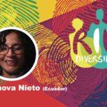 Ivanova Nieto en el conversatorio Género y diversidad en el contexto de la pandemia