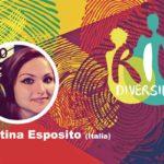 Martina Esposito en el conversatorio Género y diversidad en el contexto de la pandemia