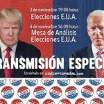 Transmisión especial de las elecciones presidenciales en EUA