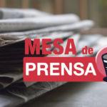 Mesa de Prensa: arresto de Salvador Cienfuegos, Margarita Zavala, denuncias al Tren Maya